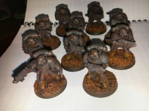 James Headhunters risen from the mud to surprise the enemy